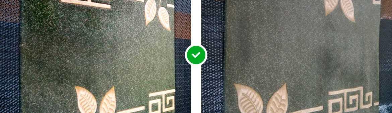 фото до и после чистки ковров